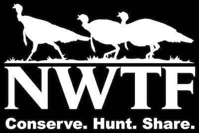 NWTF logo reversed